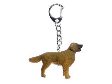 Golden Retriever Schlüsselanhänger Miniblings Anhänger Schlüsselring Haushund – Bild 1