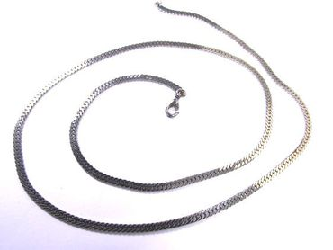 Link Necklace Miniblings Metal Silver plated 70cm – Bild 6