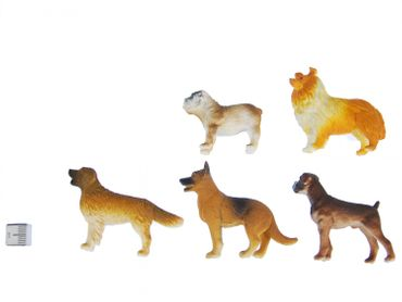 10X Dogs Miniblings Toy Figures Figurines Pet Dog Significant Mix – Bild 2