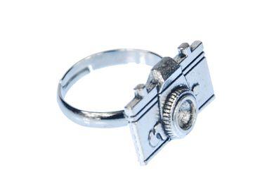 Kameraring Ring Miniblings Kamera Filmkamera Foto Fotoapparat Fotokamera Bild – Bild 1