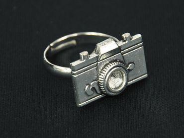 Kameraring Ring Miniblings Kamera Filmkamera Foto Fotoapparat Fotokamera Bild – Bild 3