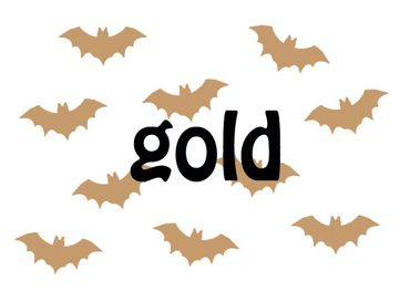 10X Patch Hotfix Iron On Motif Miniblings 35mm Glossy Gloss Vampire Bat – Bild 6