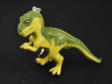 T-Rex Key Chain Key Ring Miniblings Tyrannosaurus Dinosaur Dino Green XL – Bild 2