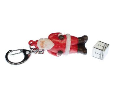 Santa Claus Key Chain Key Ring Miniblings Necklace Key Ring Christmas – Bild 2