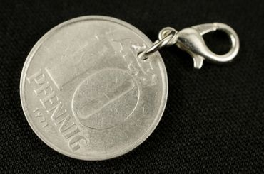 10 GDR East Germany DDR Pfennig German Germany Charm For Bracelet  Wristlet Pendant Miniblings Coin Wall Again – Bild 3