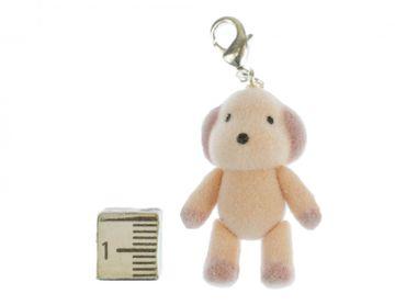 Dog Charm Zipper Pull Pendant Miniblings Plush Dog Character Pet Animal Velvety Flock Velvety Flock – Bild 2