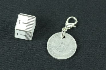 50 GDR East Germany DDR Pfennig German Germany Charm For Bracelet  Wristlet Pendant Miniblings Coin Money Nostalgia – Bild 4