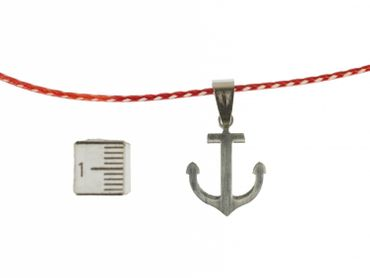 Anchor Necklace Miniblings 45cm Maritim Sea Cord Boat Lake 3cm – Bild 3
