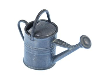 1 pcs Watering can Dollhouse puppet Plant Metal Water Pouring Pot Garden house – Bild 1