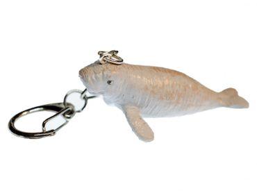 Seekuh Schlüsselanhänger Miniblings Anhänger Ozean Robbe Seehund grau – Bild 1