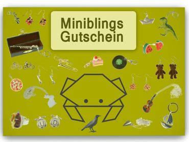Miniblings Gift Voucher Gift Card for Jewellery Jewelry 50 Euro Value