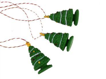 3 Pieces Christmas Tree Ornament Christmas Tree Ornaments Christmas Tree Decoration – Bild 1