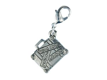 Suitcase Charm Charm Miniblings Case Luggage Vacations Travel