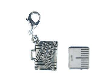 Suitcase Charm Charm Miniblings Case Luggage Vacations Travel – Bild 2