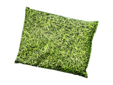 Herbal Pillow Cushion Health Miniblings 22X18cm Green Grass Meadow Nature – Bild 2
