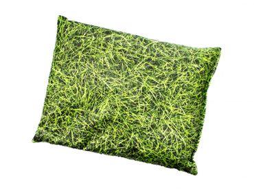 Kräuterkissen Schlafkissen Erkältung Miniblings 22x18cm grün Gras Wiese Natur – Bild 2