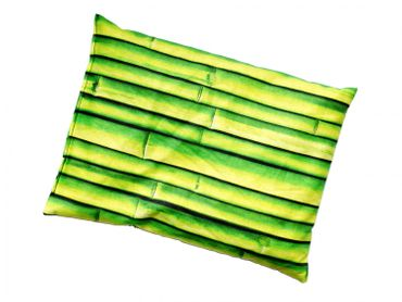Herbal Pillow Cushion Health Miniblings 22X18cm Green Bamboo Tree Plant – Bild 2