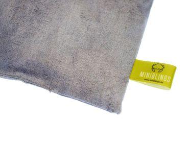 Herbal Pillow Cushion Health Miniblings 22X18cm Gray Concrete Walls Stone – Bild 1