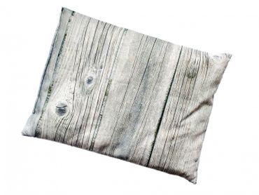Kräuterkissen Schlafkissen Erkältung Miniblings 22x18cm grau Rinde Baum Birke – Bild 2
