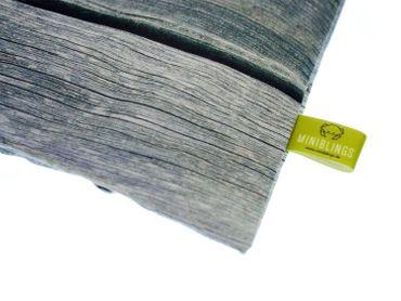 Kräuterkissen Schlafkissen Erkältung Miniblings 22x18cm grau Rinde Baum Birke – Bild 1
