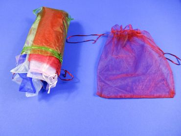 40X Organza Bag Organza Bags Miniblings Gift Bag Wrapping Mixed Colours different sizes – Bild 1