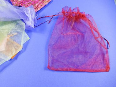 40X Organza Bag Organza Bags Miniblings Gift Bag Wrapping Mixed Colours different sizes – Bild 2