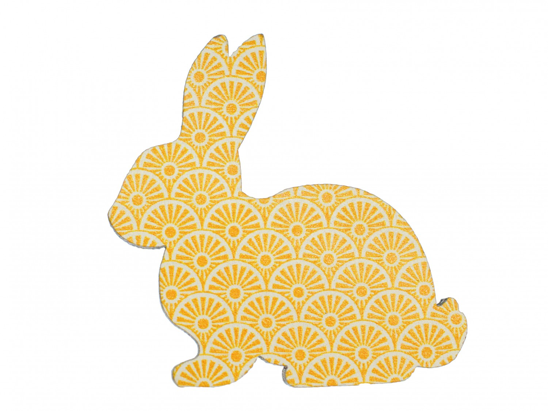 Hase brosche miniblings anstecknadel ostern kaninchen for Osterhasen basteln aus holz