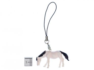 Horse Mobile Phone Charm Pendant Miniblings horses animal farm texas White Pony Rides – Bild 3