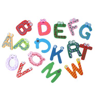 letter letters Magnet Fridge Magnets Initials ABC School Alphabet words – Bild 2