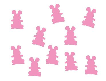 10X Patch Hotfix Iron On Motif Bunny Miniblings 25mm Glossy Gloss Bunny Rabbit Hare Rabbit Standing – Bild 11