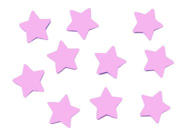 10X Patch Hotfix Iron On Motif Iron-Star Miniblings 25mm Velvety Flock Stars All Colors – Bild 11
