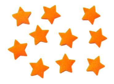 10X Patch Hotfix Iron On Motif Iron-Star Miniblings 25mm Velvety Flock Stars All Colors – Bild 10