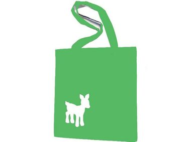 Cotton Carrier Bag Jute Bag Shopper Miniblings Deer Bambi Deer Different. Colors – Bild 5
