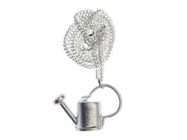 Gießkanne Kette Halskette Miniblings 45cm Gärtnerin Garten Wasser Blumen Metall – Bild 2