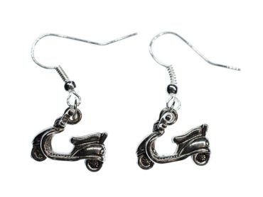 Scooter Moped Scooter Earrings Miniblings Mopet Vehicle Driving Fun – Bild 1