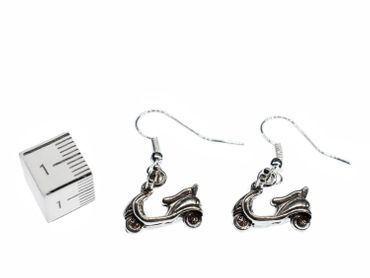 Scooter Moped Scooter Earrings Miniblings Mopet Vehicle Driving Fun – Bild 2