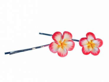 Flower Set Of 2 Hair Clip Hair Pin Clips Pins Miniblings Romance Flowers Bloom Summer – Bild 1