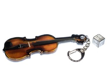 Violin Key Ring Pendant Key Ring Miniblings Music With Mirror – Bild 3