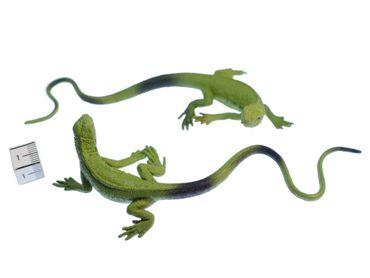 10x Waran Aufstellfigur Tierfigur Miniblings Set Komodowaran Echse Reptil 12 5cm – Bild 2