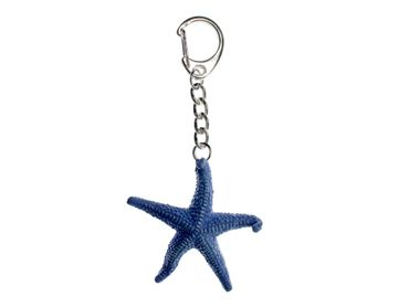 Sea Star Starfish Key Chain Miniblings Key Ring Ocean Animal Sea Blue – Bild 1