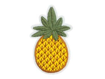 Ananas Bügelbild Aufnäher Aufbügler Miniblings Garten Früchte Obst Frucht Sommer – Bild 1