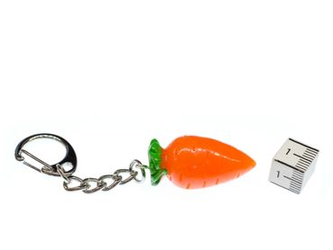Eastern Carrot Key Chain Key Ring Miniblings Necklace Food Garden Vegetables  – Bild 2