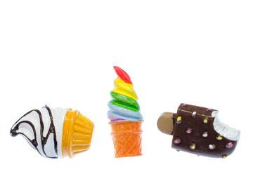 3pcs Ice Cream Popsicles Pin Miniblings Brooch Holiday Summer Food Sweets Soft Ice – Bild 1
