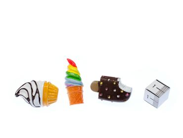 3pcs Ice Cream Popsicles Pin Miniblings Brooch Holiday Summer Food Sweets Soft Ice – Bild 2