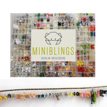 Transparent Bullet Colorful Pearls Beads Earrings Miniblings Plastic Bead – Bild 2
