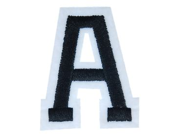 Letters Initials Alphabet ABC Hotifix Patch Hotfix Iron On Motif Application Sewing Miniblings 4.5cm Letter A new – Bild 1