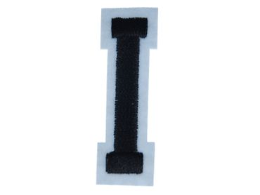 Letters Initials Alphabet ABC Hotifix Patch Hotfix Iron On Motif Application Sewing Miniblings 4.5cm I Letter new – Bild 1