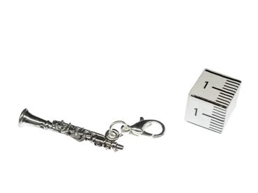 Clarinet Charm For Bracelet Wristlet Dangle Miniblings Charms Music Clarionet – Bild 4