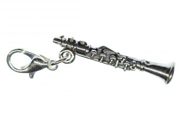 Clarinet Charm For Bracelet Wristlet Dangle Miniblings Charms Music Clarionet – Bild 2