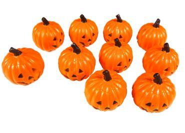 10 pcs Halloween Miniblings Toy Figures Figurines Pumpkin Decoration Horror – Bild 1
